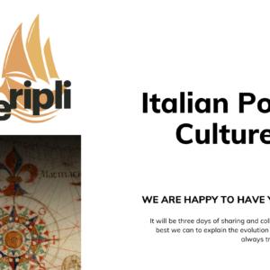 Workshop Roma / Italia – 3 days – 1 to 3 october 2021